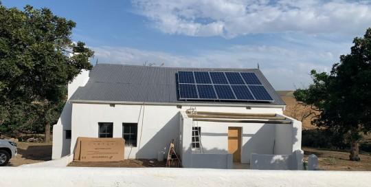 solar isntallation Caledon