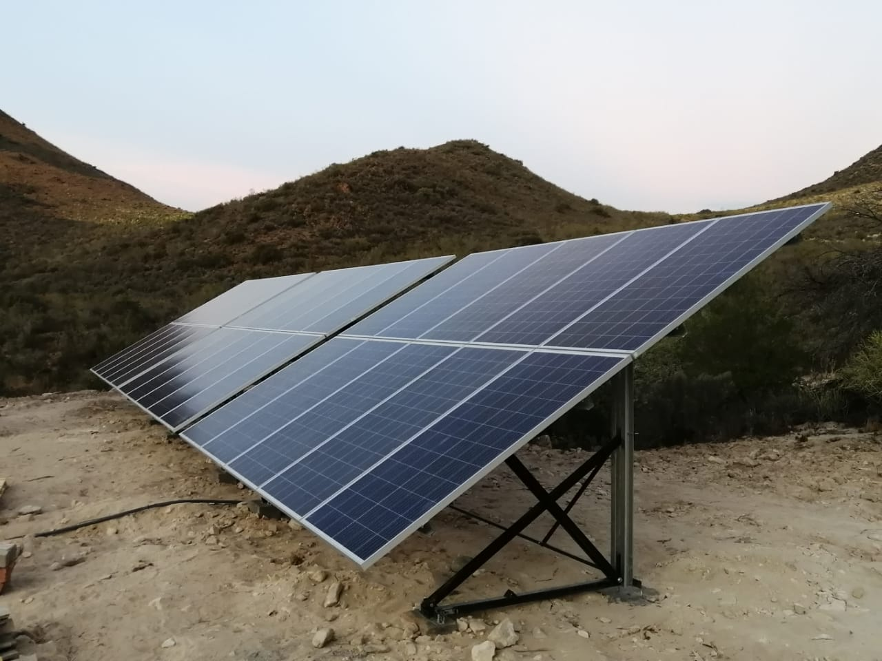 4kw Three Phase Solar Pumping Solution